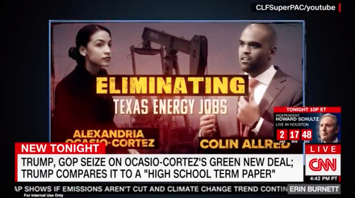 ICYMI: CLF Ads Hold Dems Accountable for Green New Deal