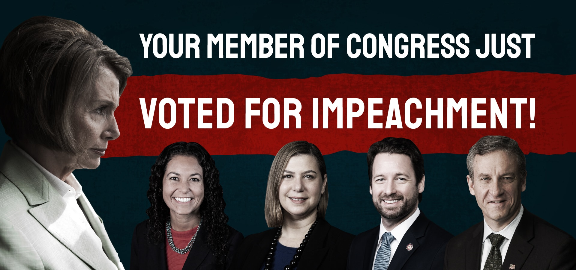 CLF Launches Digital Ads Slamming All 29 Trump Seat Democrats Who Voted For Impeachment