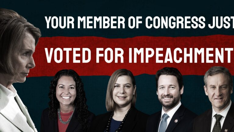 ICYMI: CLF Holds Trump District Democrats' Feet To The Fire Over Impeachment Vote