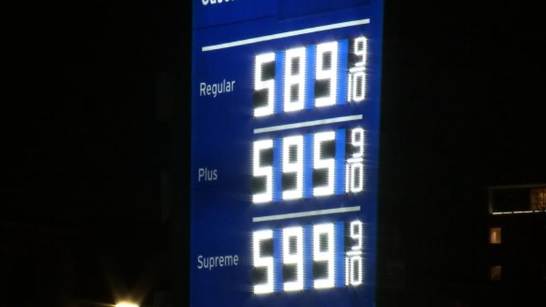 Empty pumps and expensive gas